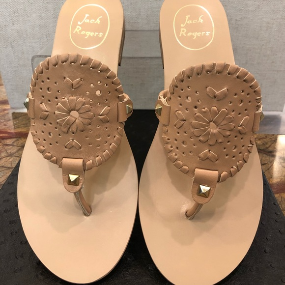 6cac88d2d84 Buff colored Georgica Leather Sandals